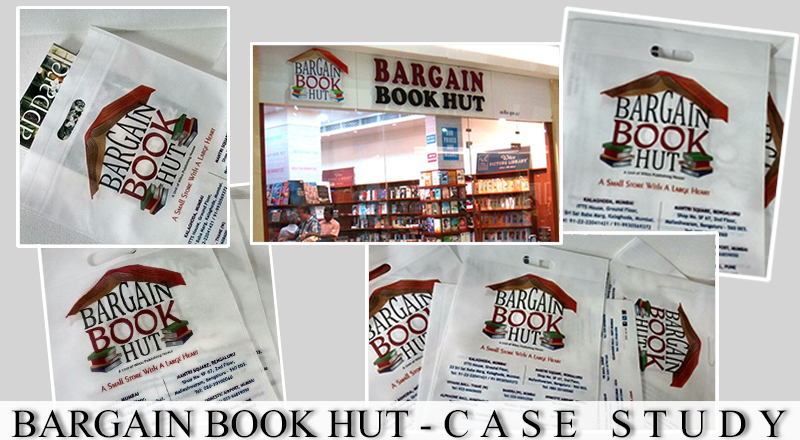 Bargain Book Hut- Non Woven Bag Printing