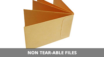 non tear-able file