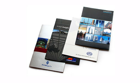 paper promotional booklet